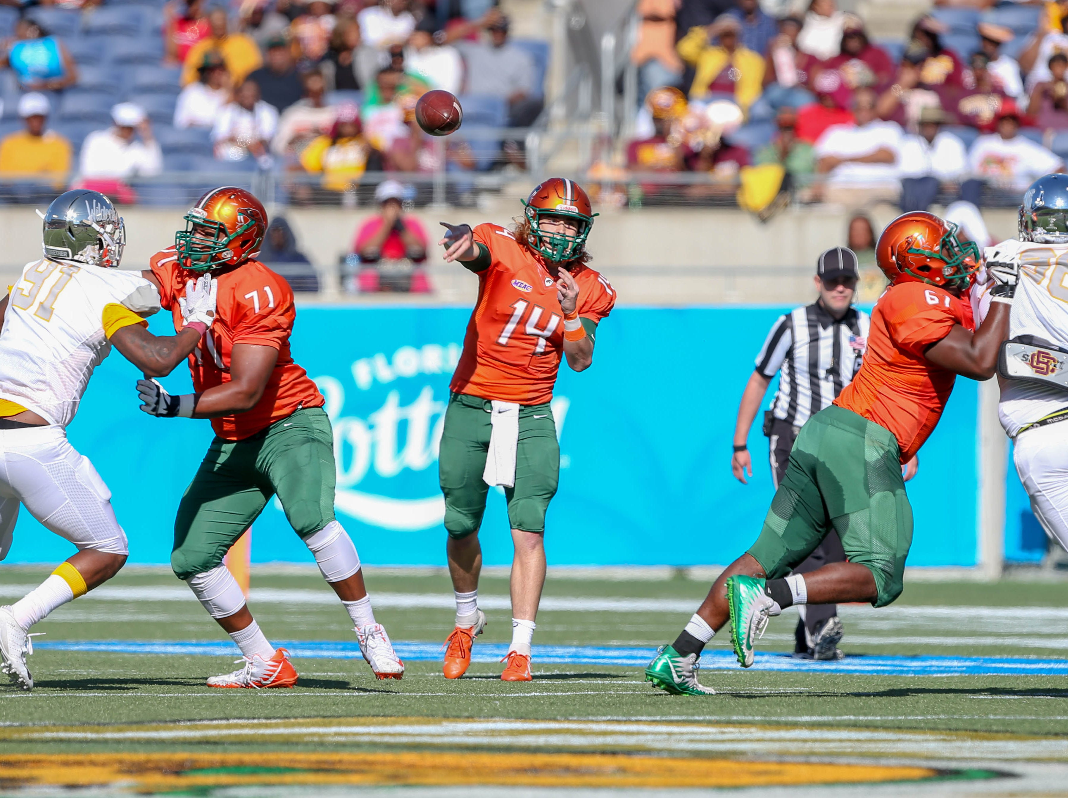 Turnovers, poor red-zone execution derails FAMU in Florida Classic