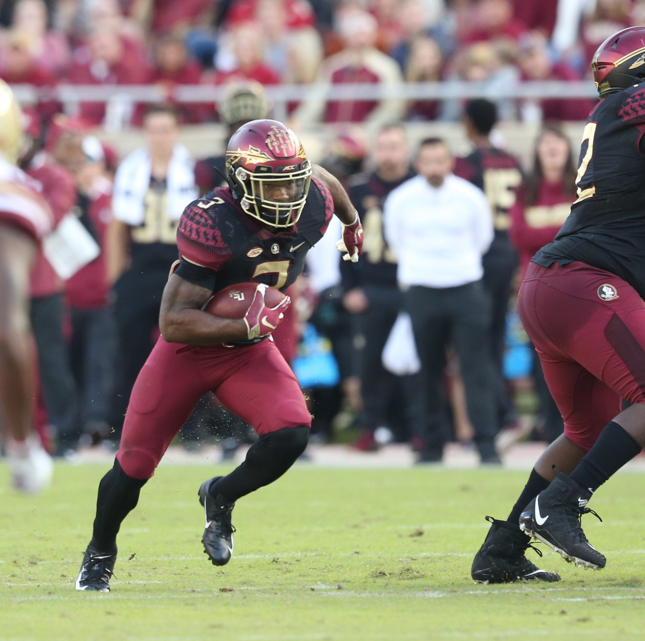 Florida State offensive line, run game making strides together