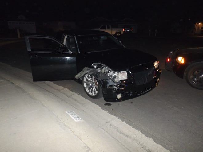 A Visalia man was taken to jail after police said his driving skills wreaked havoc on pedestrians and other motorists.