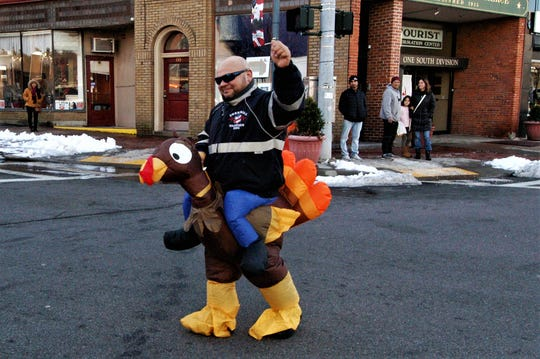 The 8th annual Quiet Man Public House Turkey Run took place on Saturday, November 17th, 2018 at North Division Street in Peekskill