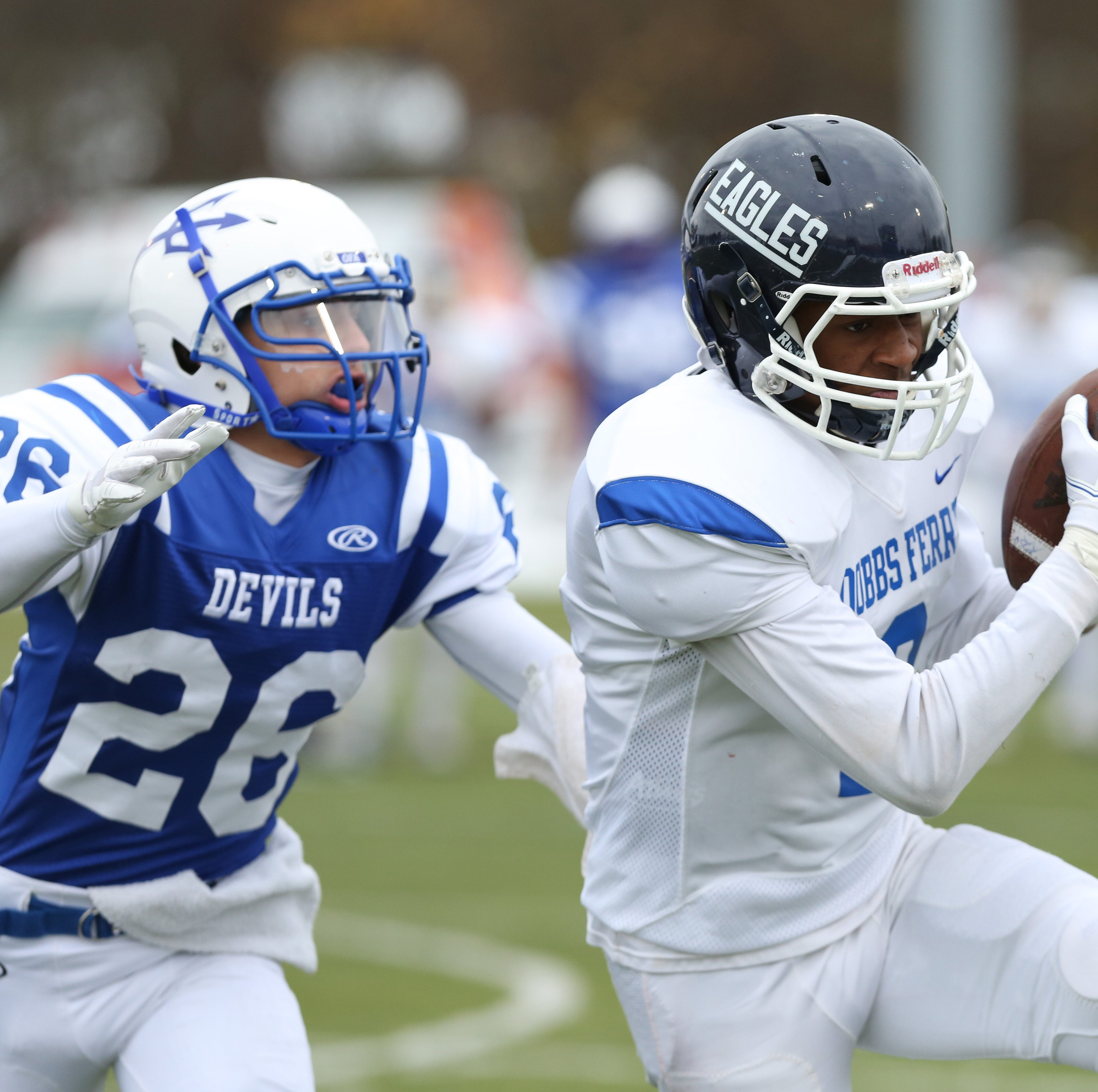 Dobbs Ferry defeated Ogdensburg 55-22 to win the...