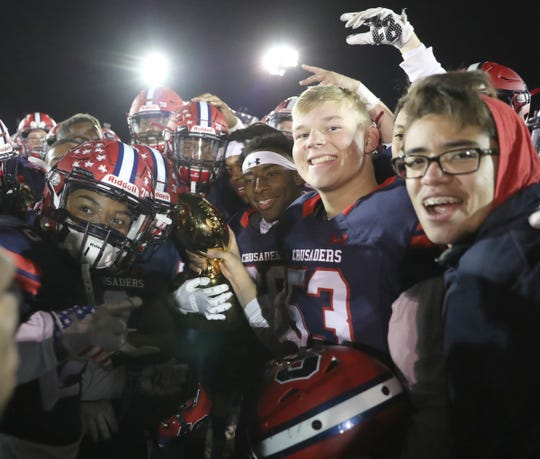 Stepinac defeats Cardinal Hayes 29-18 in the CHSFL Class 'AA' Championship Game at Mitchel Field Complex in Uniondale on Saturday, November 17, 2018.