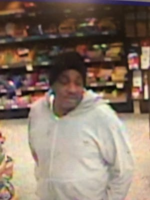 Police are looking for this man, who they say exposed himself to an employee and a woman at a Hockessin Wawa store.