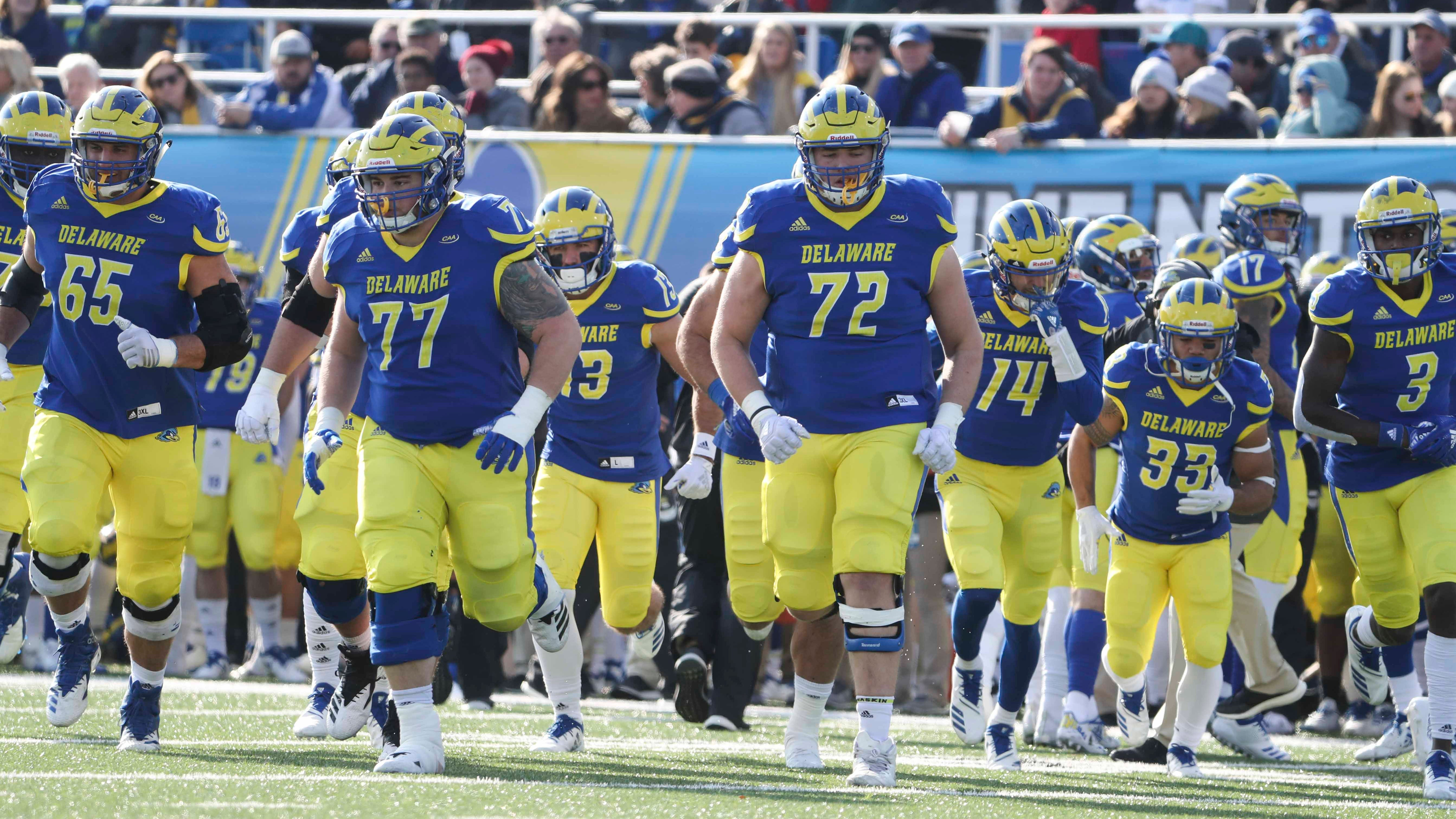 University Of Delaware Back In Ncaa Football Playoffs Will Visit