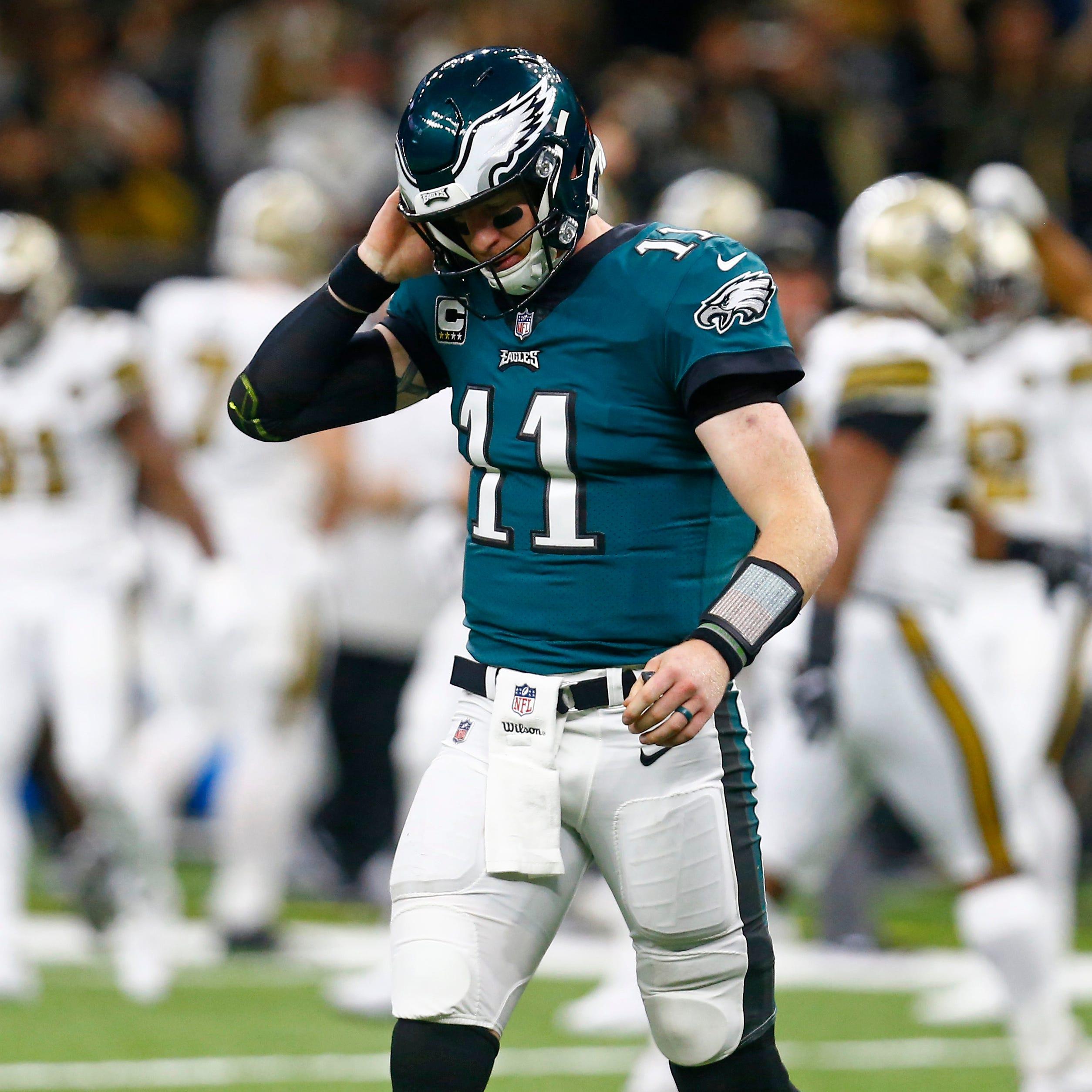 Eagles' season falls apart against Saints; lose 5 starters to injuries