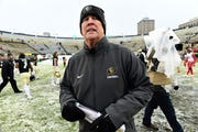 Colorado coach Mike MacIntyre was fires after his team lost six consecutive games this season.