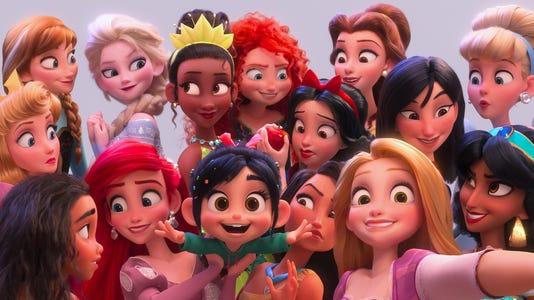 Ralph princess selfie