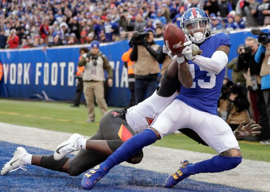 Nfl Tampa Bay Buccaneers At New York Giants