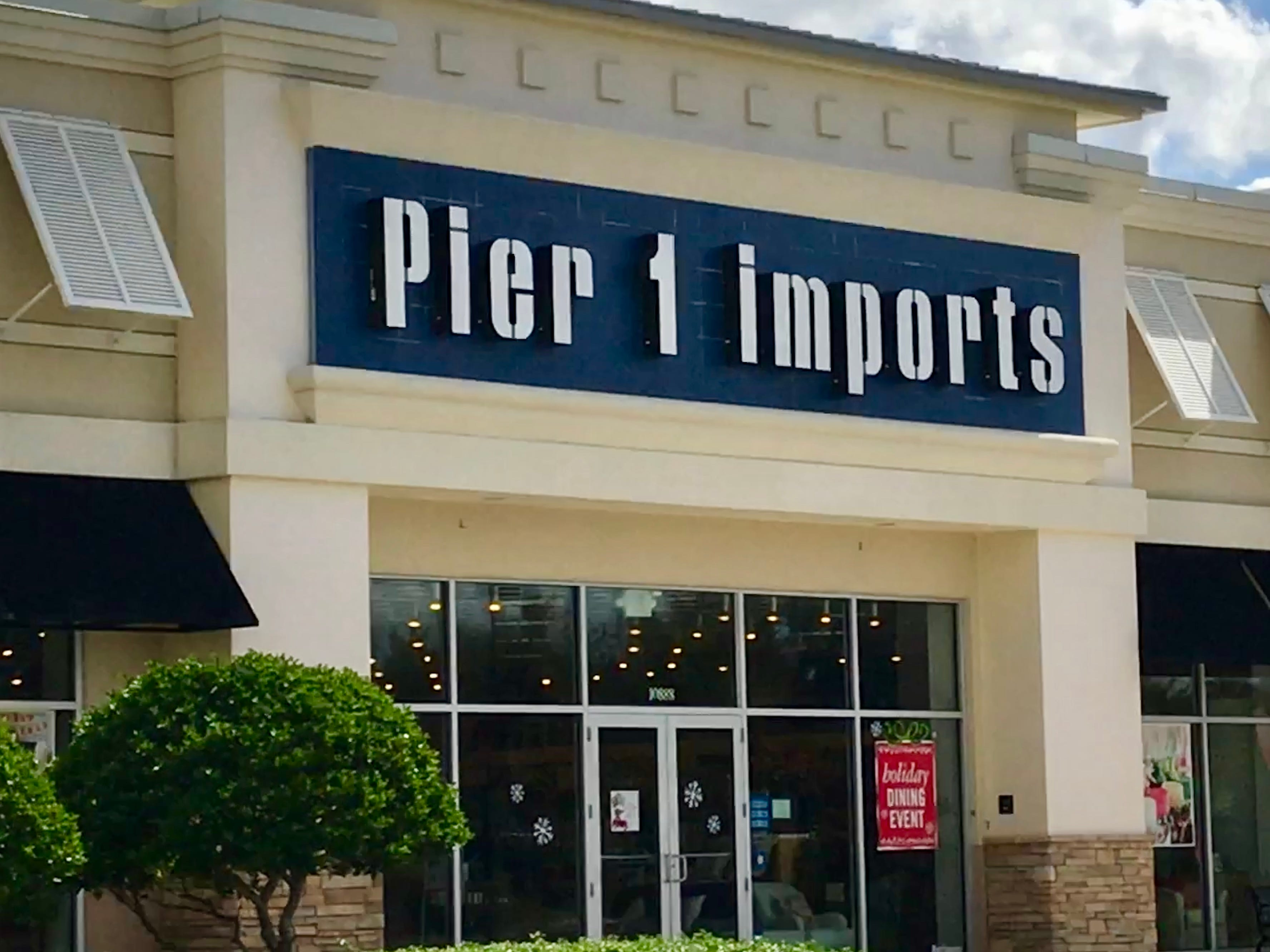 Pier 1 stores will be closed Thanksgiving.