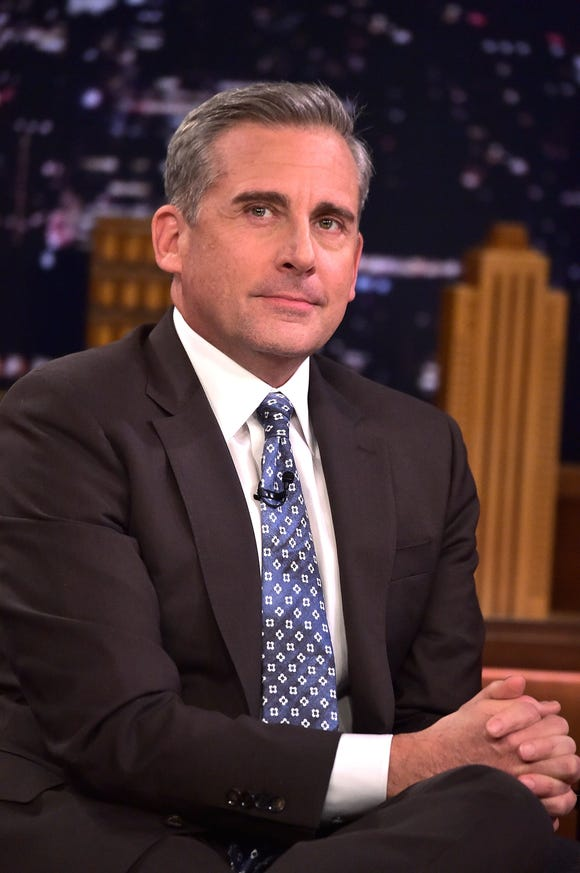 Steve Carell took on Amazon CEO Jeff Bezos for a sketch full of jabs at President Trump.