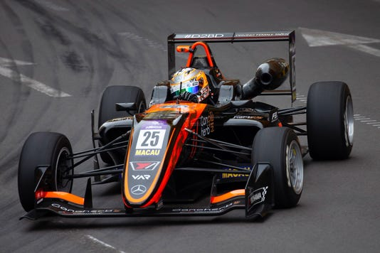 Epa China Macau Grand Prix Spo Motor Racing Chn