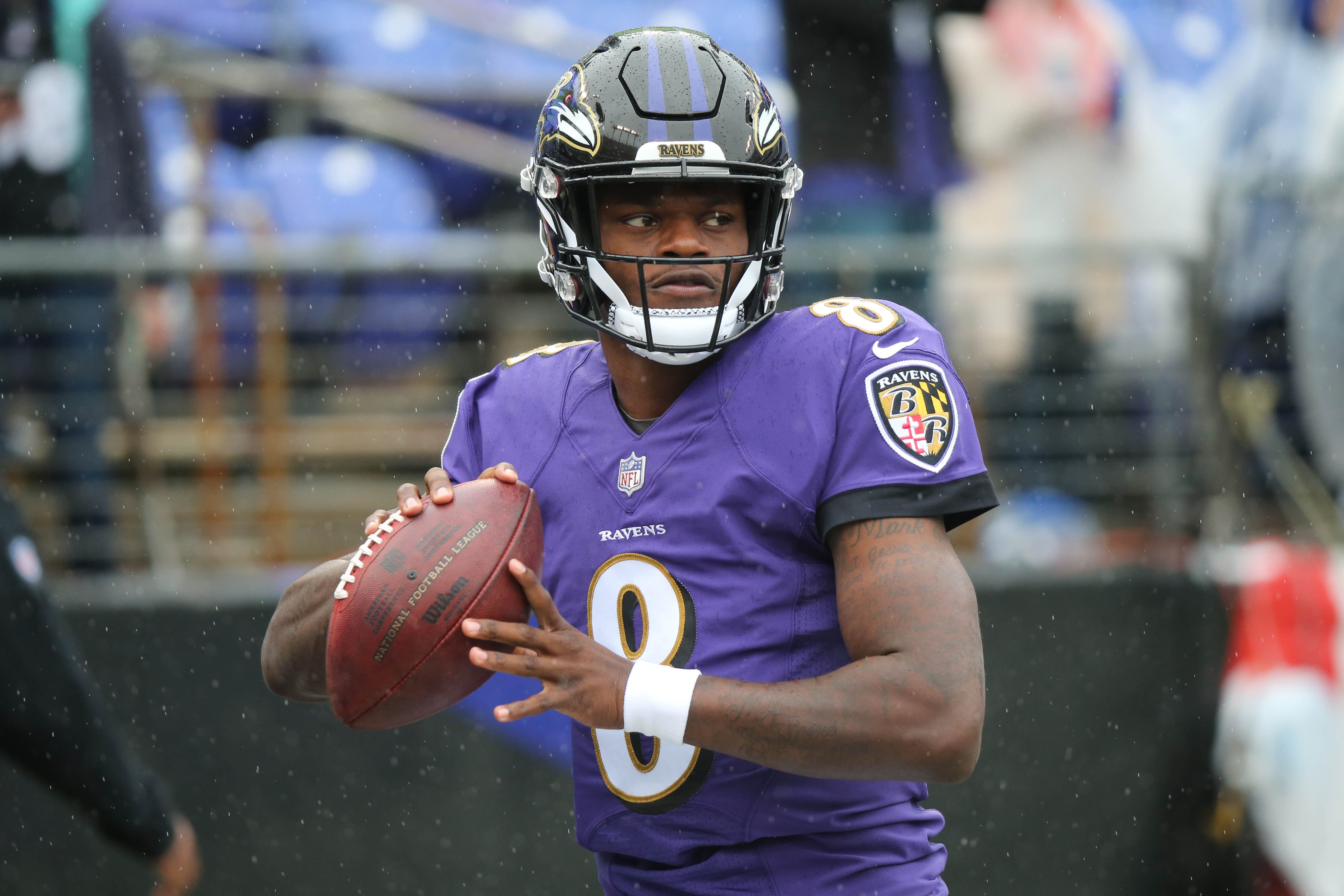 Lamar Jackson to start for Ravens in place of injured Joe Flacco