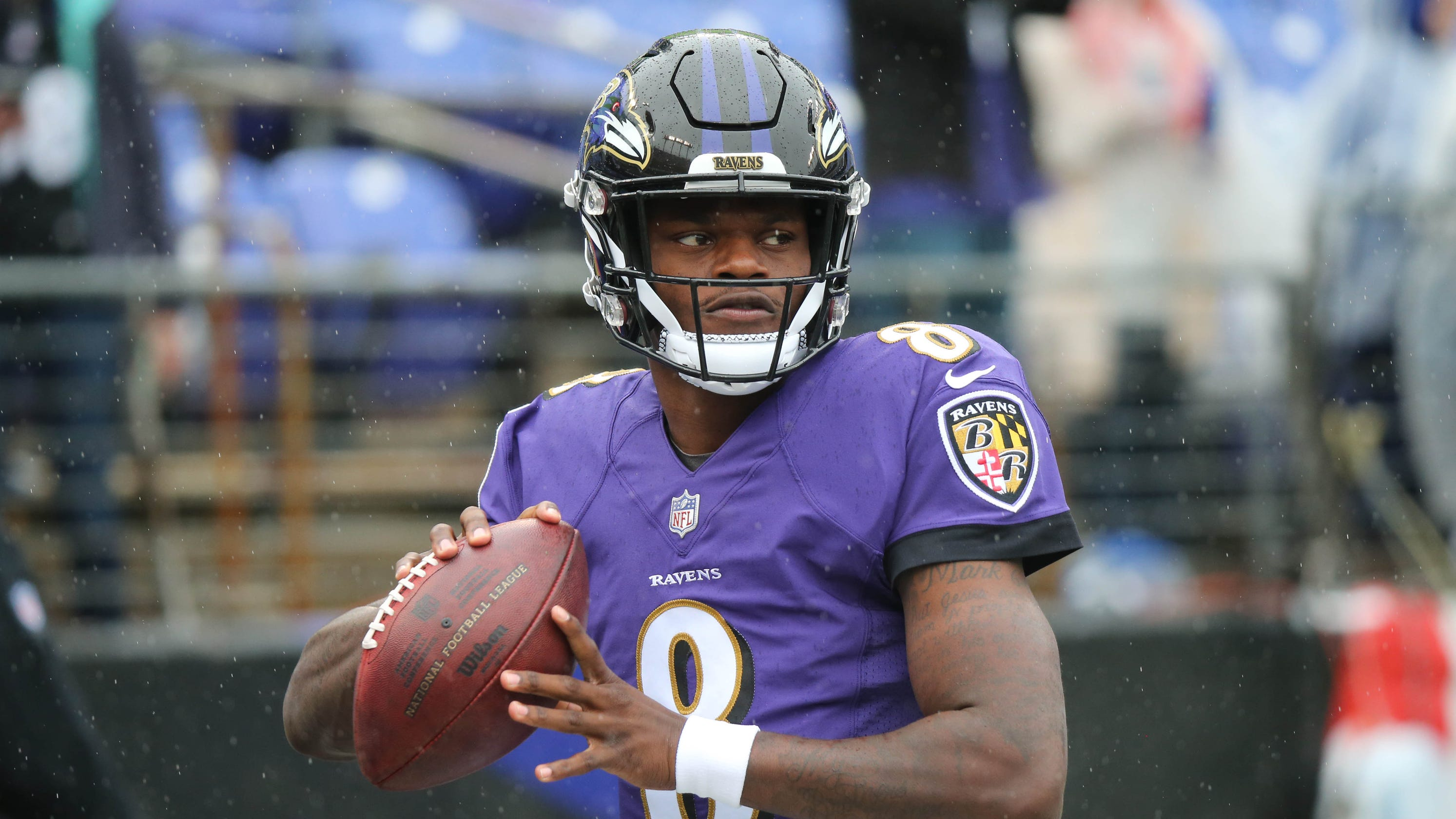 7a8f4d49c Lamar Jackson to start for Ravens in place of injured Joe Flacco