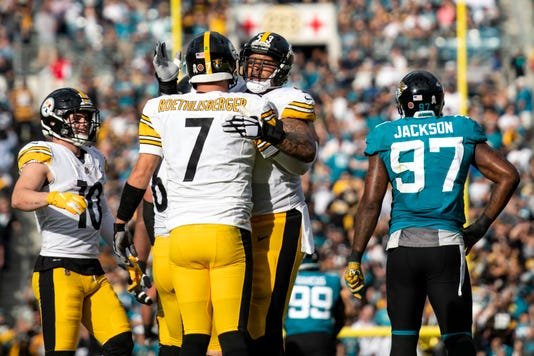 Nfl Pittsburgh Steelers At Jacksonville Jaguars