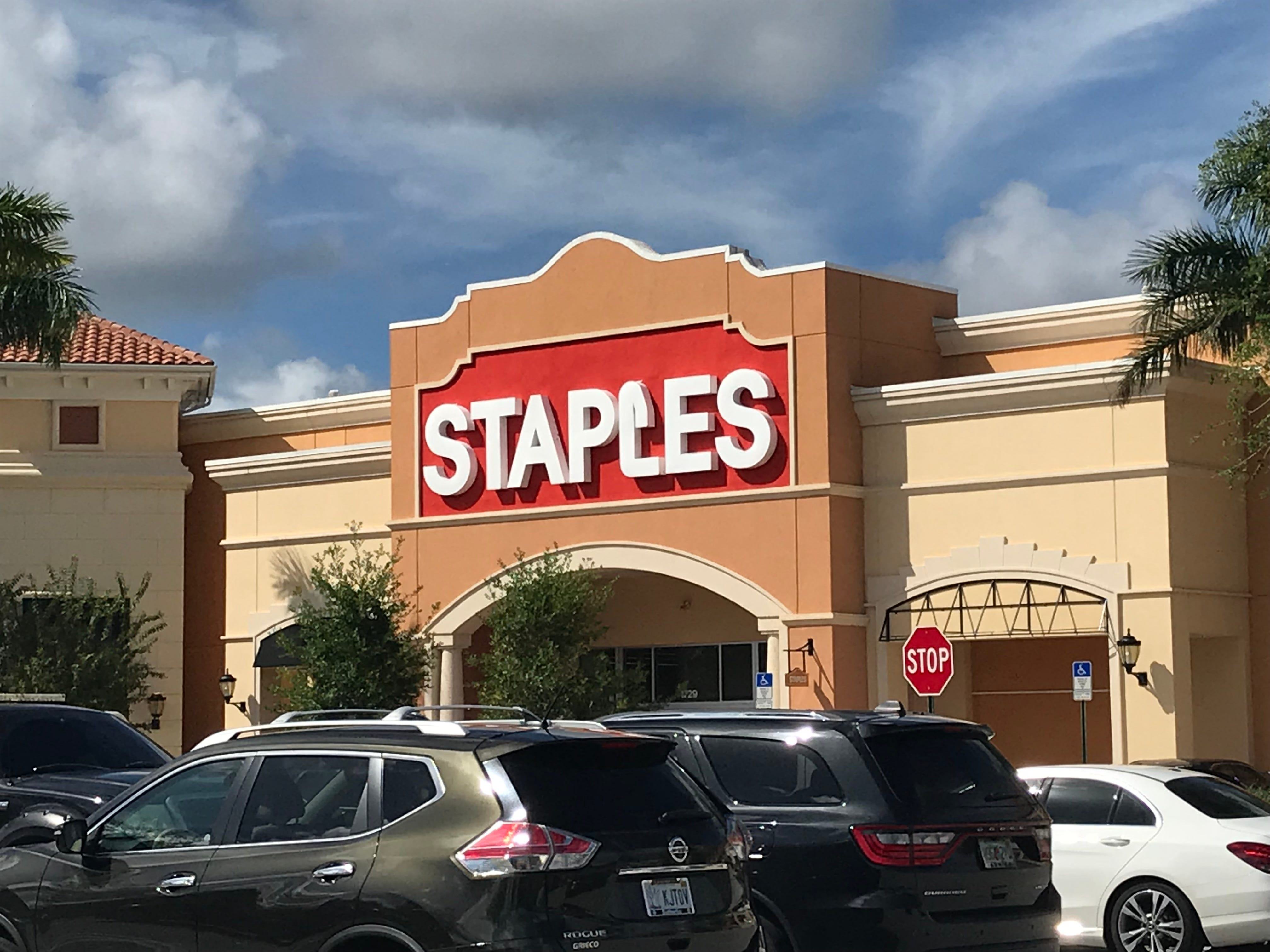 Staples starts its Black Friday sale on Thanksgiving online.