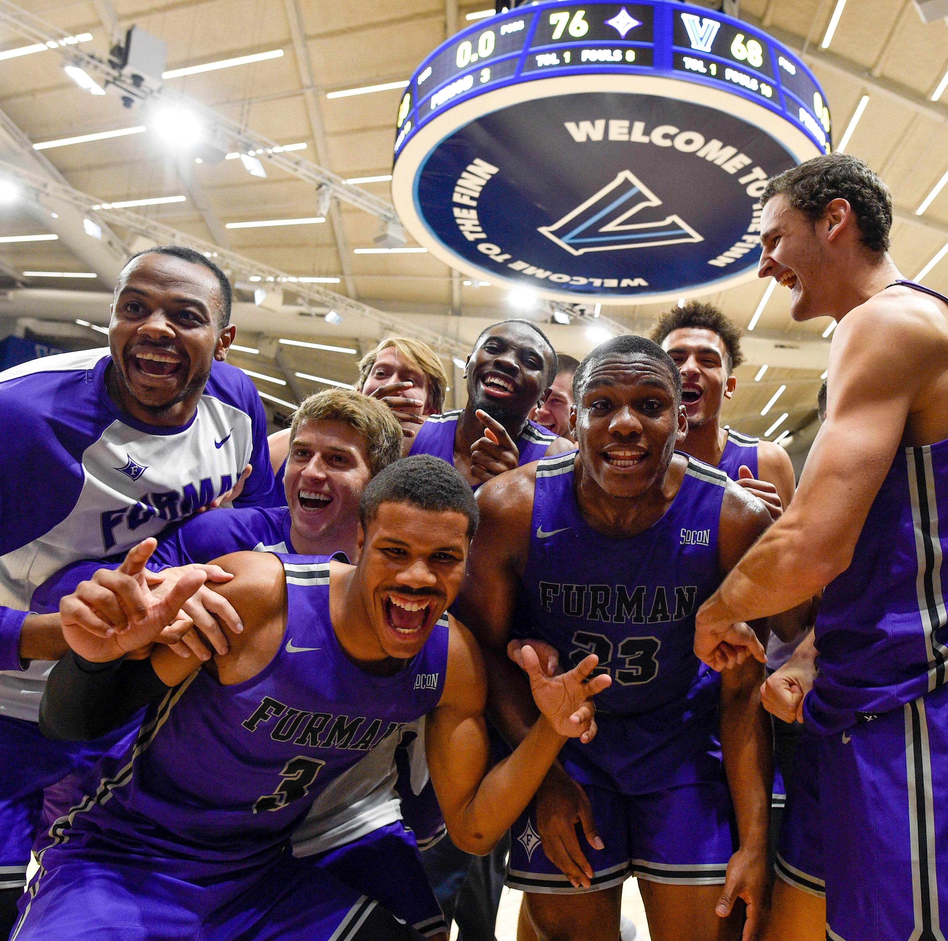 Win over Villanova: Furman men's basketball believes it is onto something special