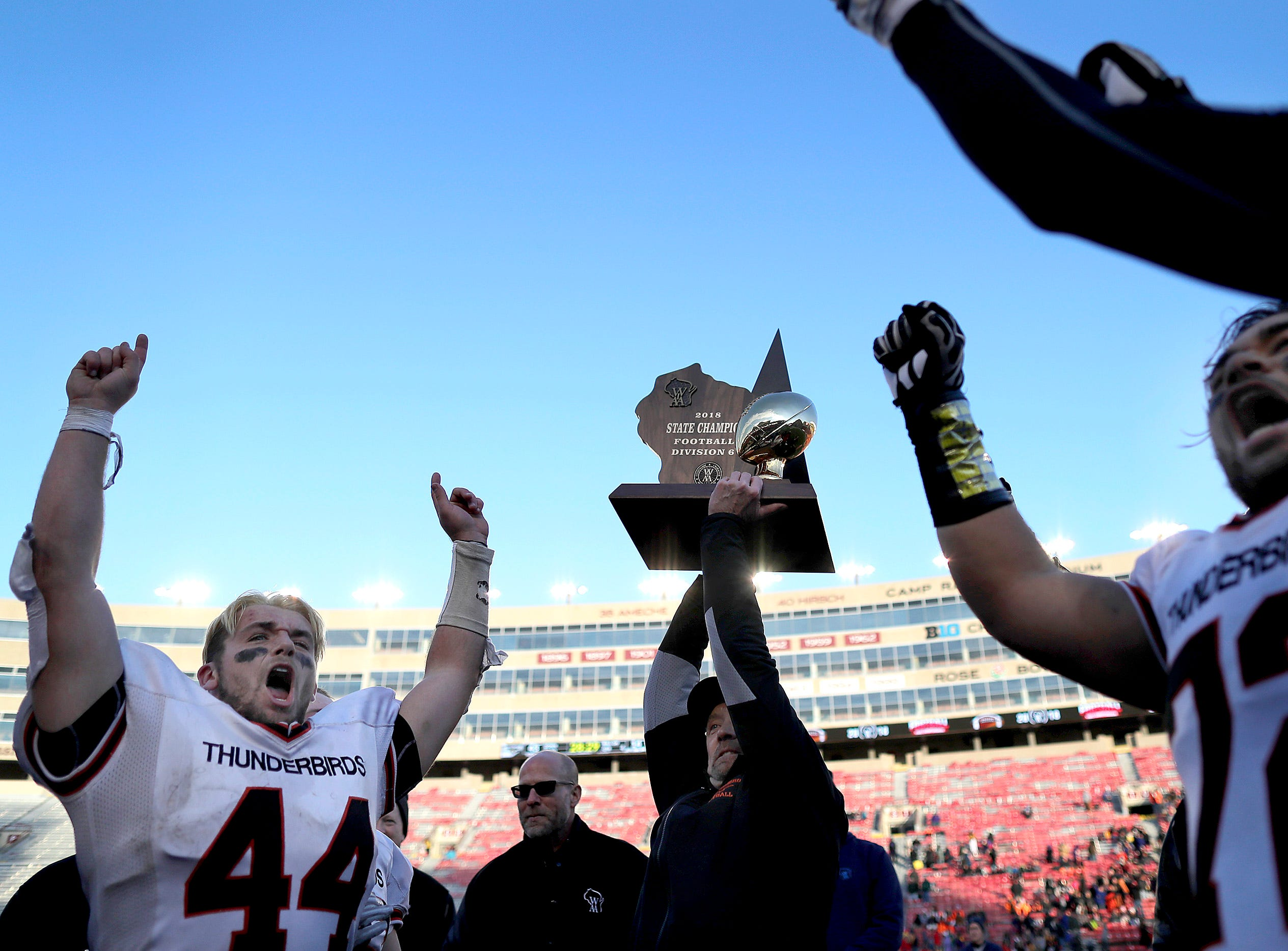 Iola-Scandinavia High School's head coach 