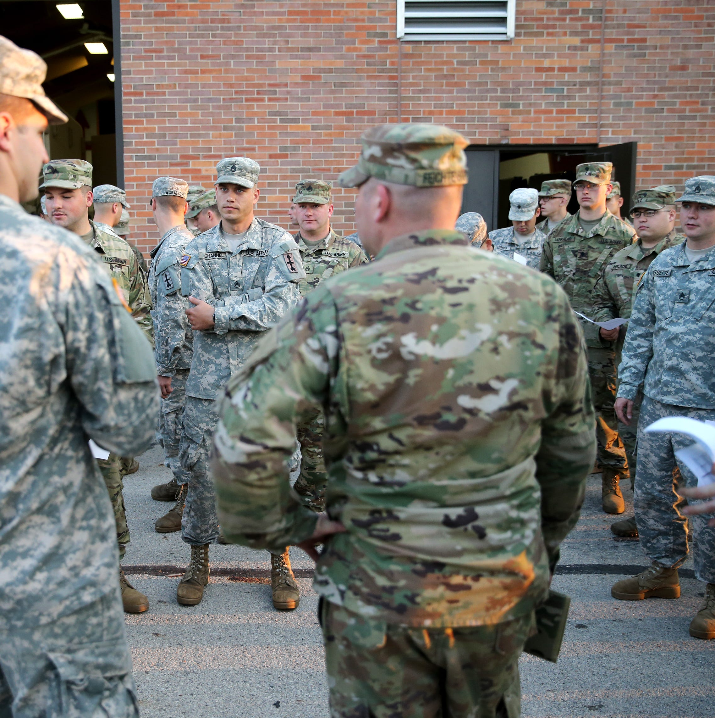 One quarter of Wisconsin National Guard units don't meet Army standards, reports show
