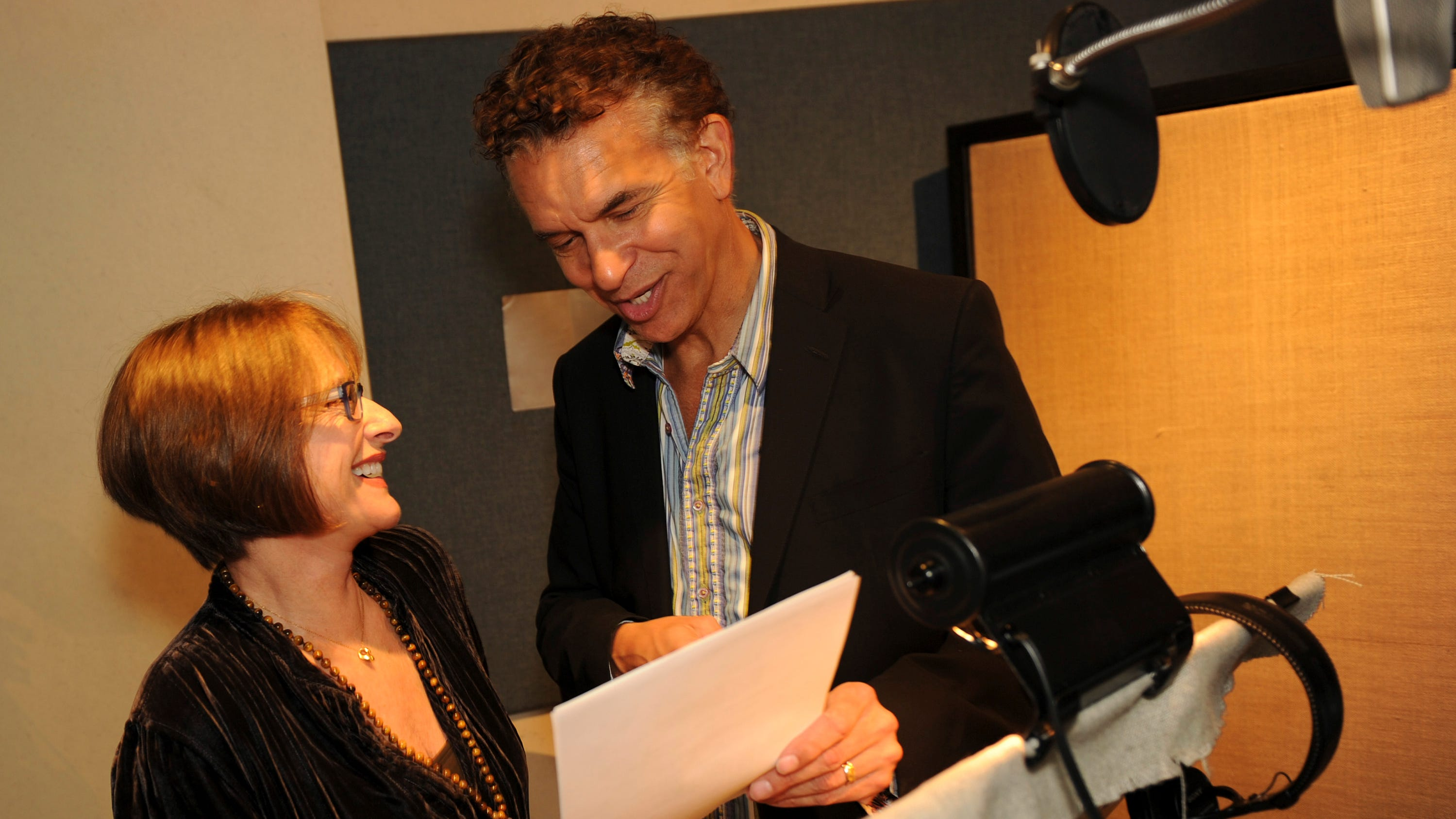 Exclusive: See Broadway stars Patti LuPone, Brian Stokes Mitchell get animated in 'Vampirina'