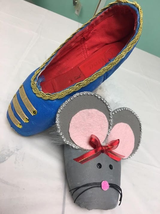 Nutcracker Pointe Shoes