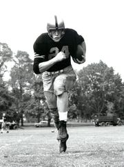Pete Dawkins with Army football circa 1958