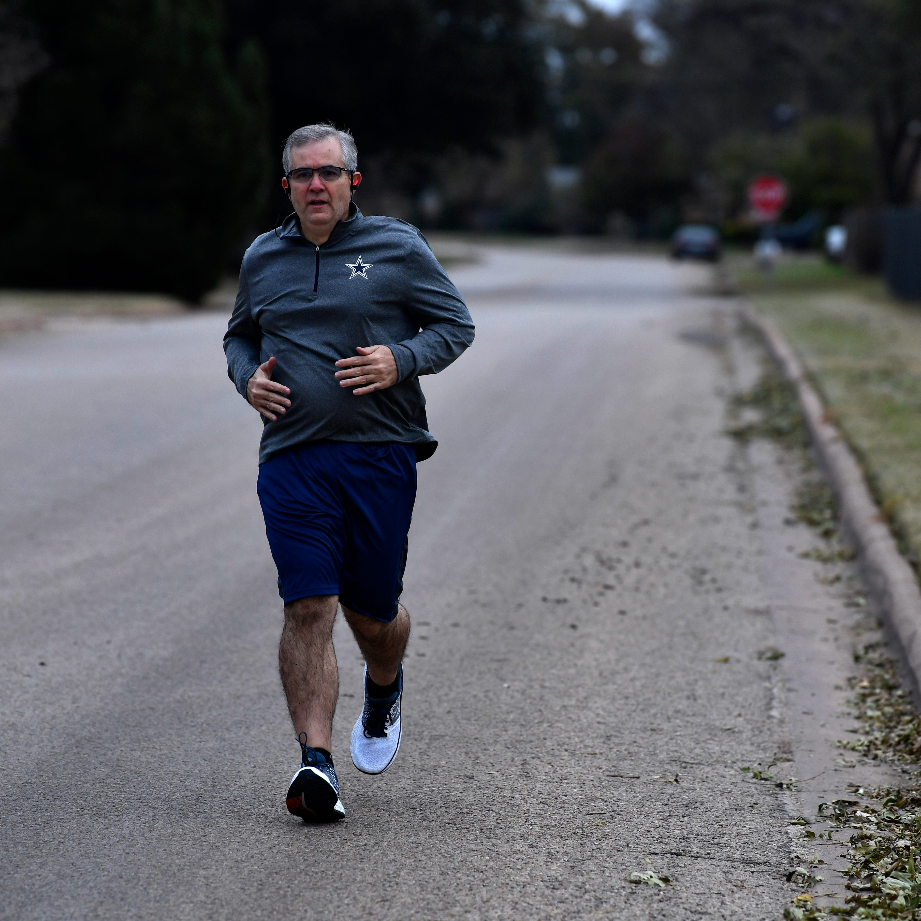 Abilene ISD Superintendent David Young enjoys 100-pound weight loss