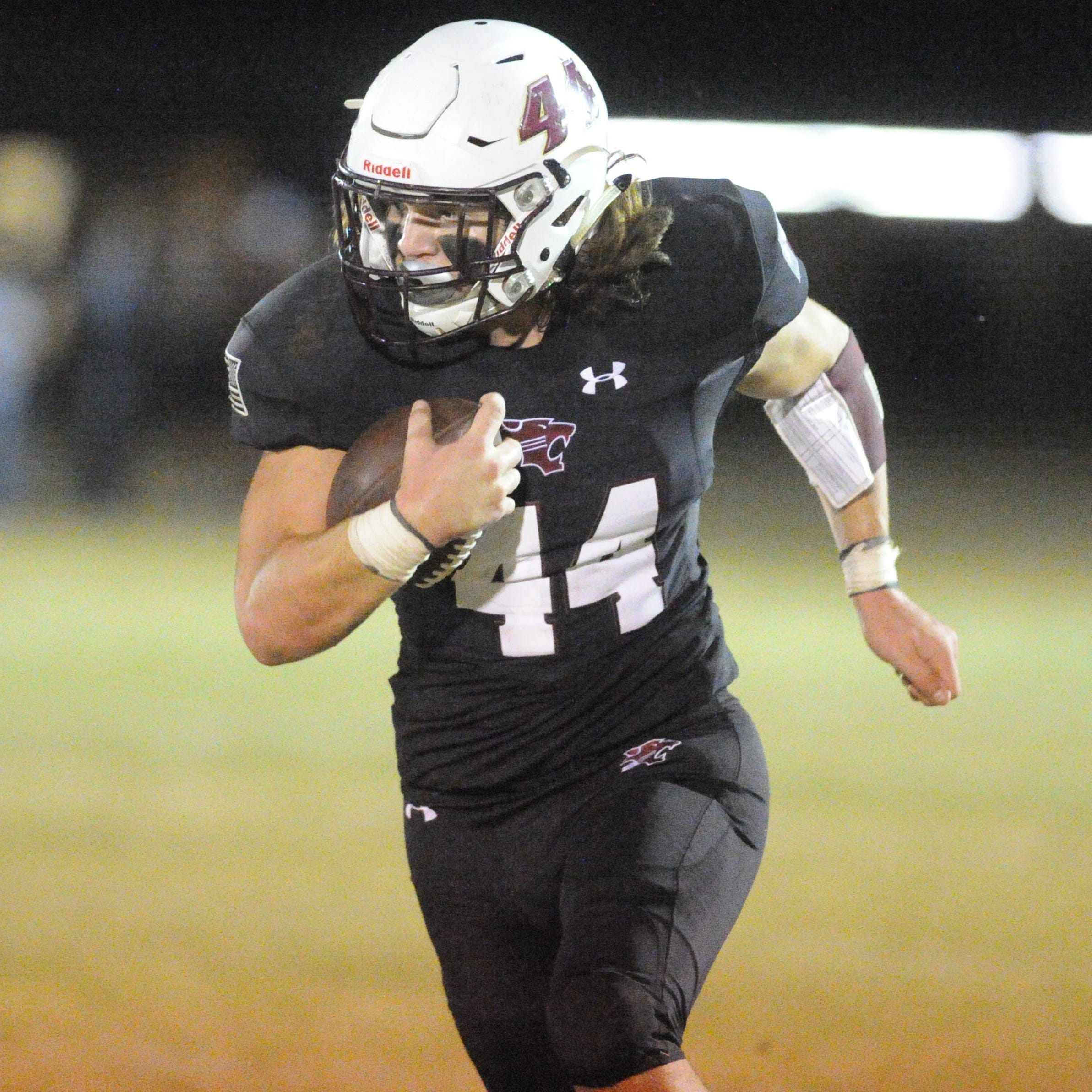 Big Country Player of the Week: Hawley's Colton Marshall runs through Dragons defense