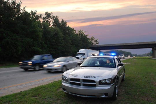 NC State Highway Patrol will be stationed every 20 miles on I-40 over the Thanksgiving holiday.