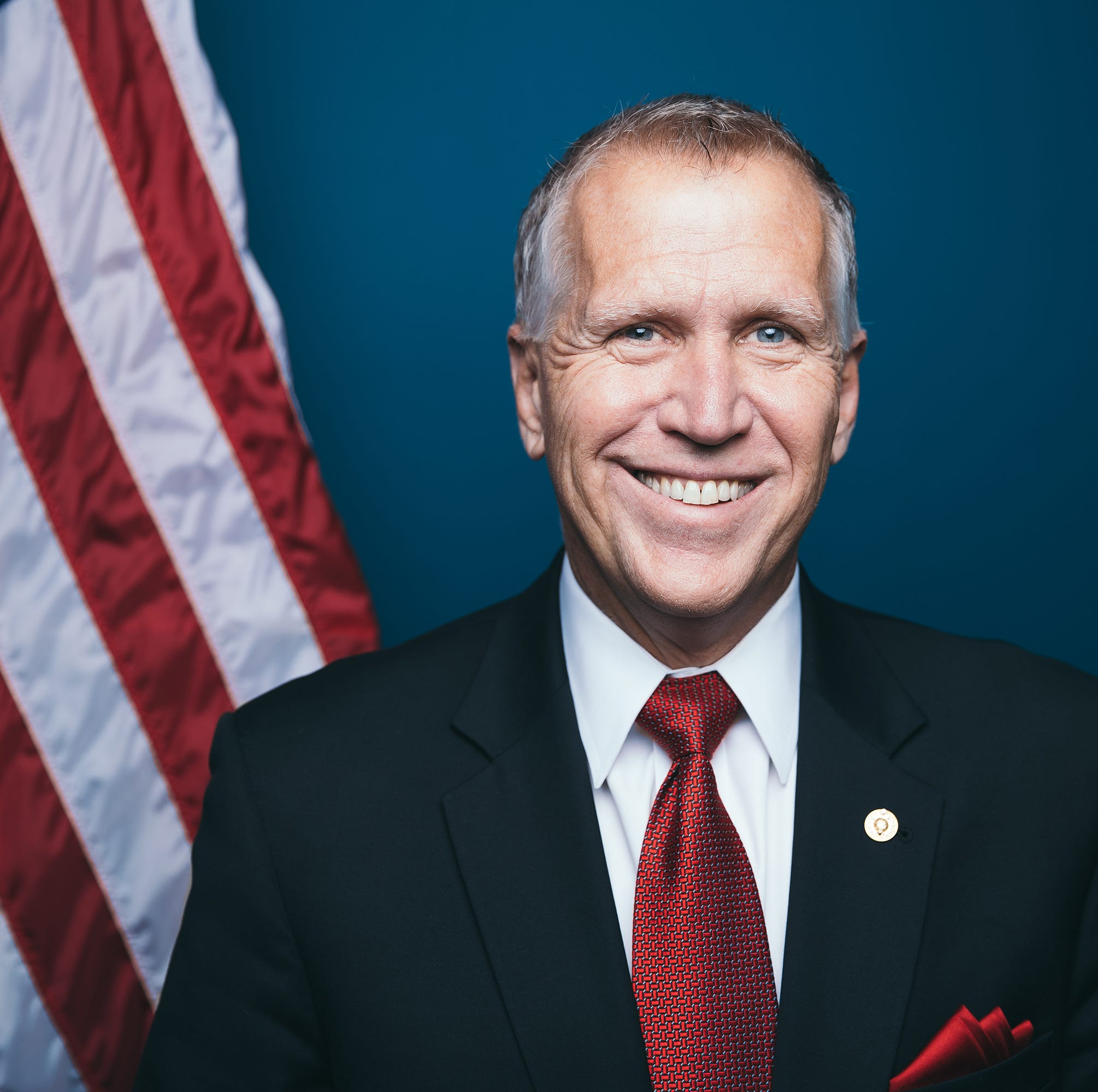 NC Republican Sen. Tillis flips on emergency wall funding, supports Trump