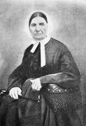 Mira Margaret Baird Vance.  Photo courtesy of Special Collections, Ramsey Library UNC Asheville.