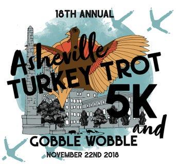 18th annual Asheville Turkey Trot 5K is Nov. 22.