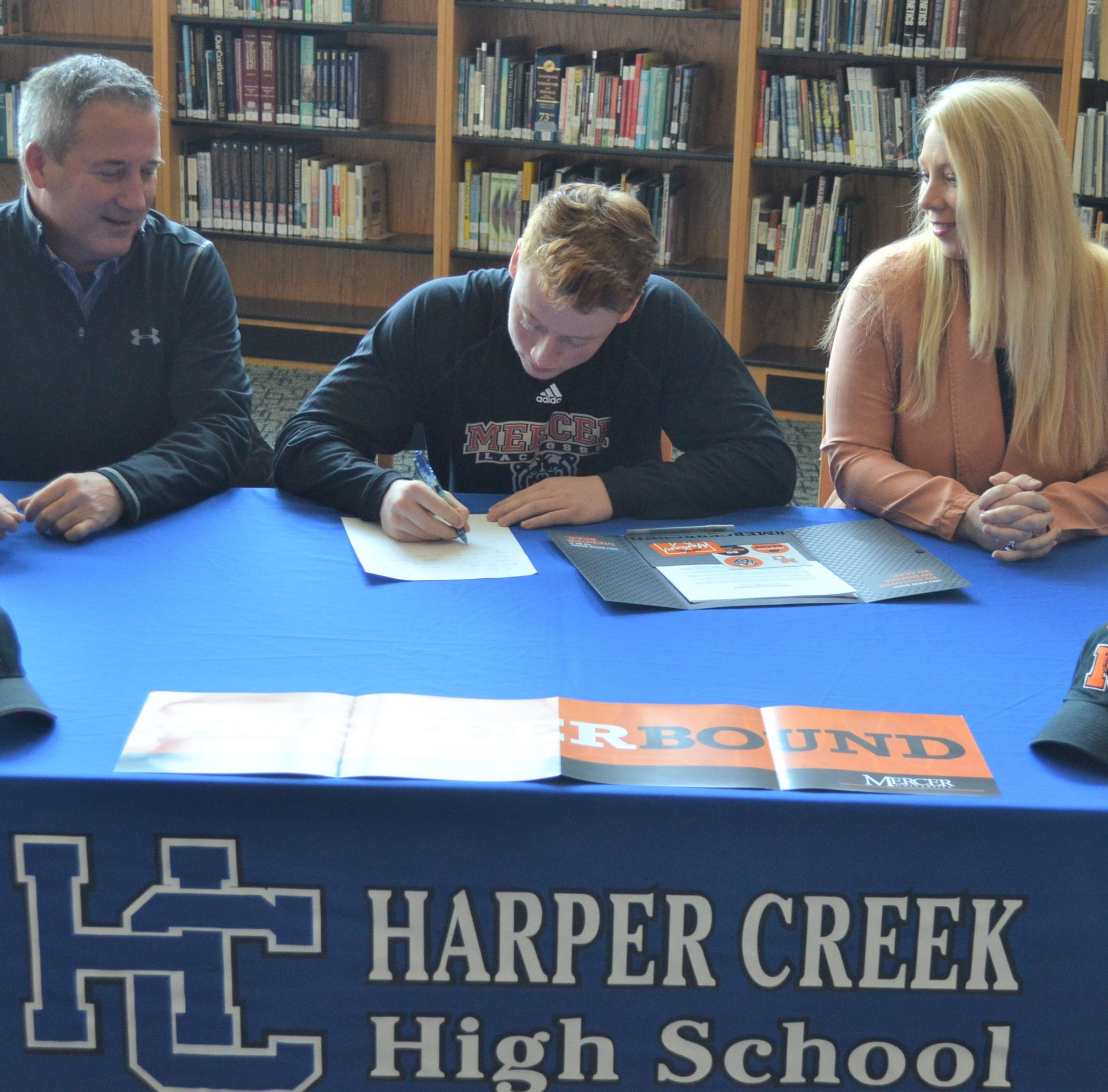 Harper Creek's O'Connor signs to play lacrosse at D-1 school
