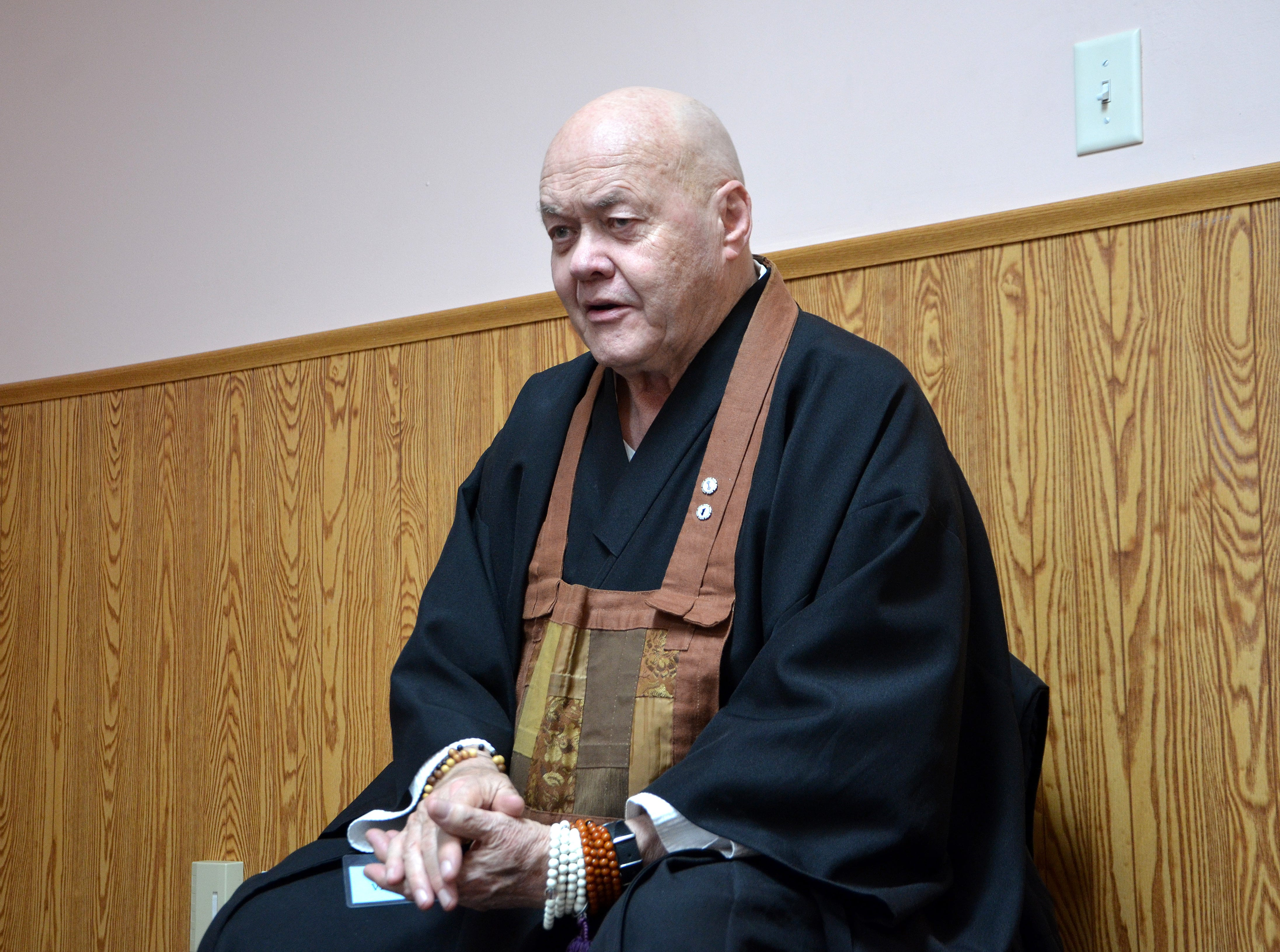 Sokuzan, the abbot of SokukoJi Buddhist Temple Monastery, and his students teach meditation classes at A Forever Recovery and at various Michigan Department of Corrections facilities around the state.