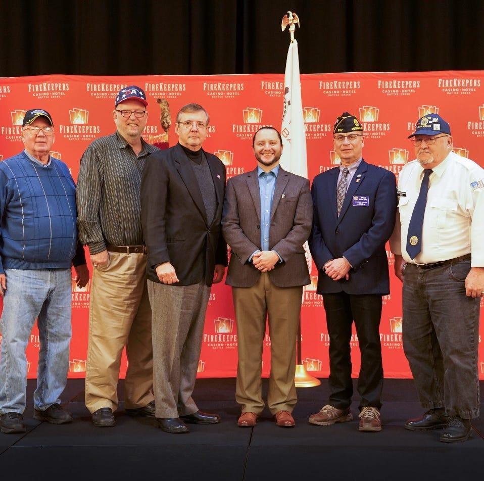Nottawaseppi Huron Band of the Potawatomi distributes $27,600 raised for local veterans
