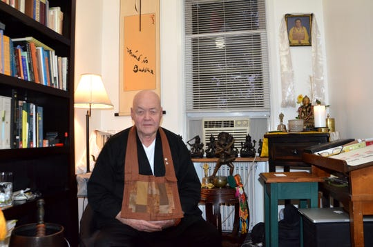 Robert Brown, who was given the name Sokuzan when fully ordained as a monk in 2007, first became interested in Buddhism in 1960 while he was in the Marine Corps.