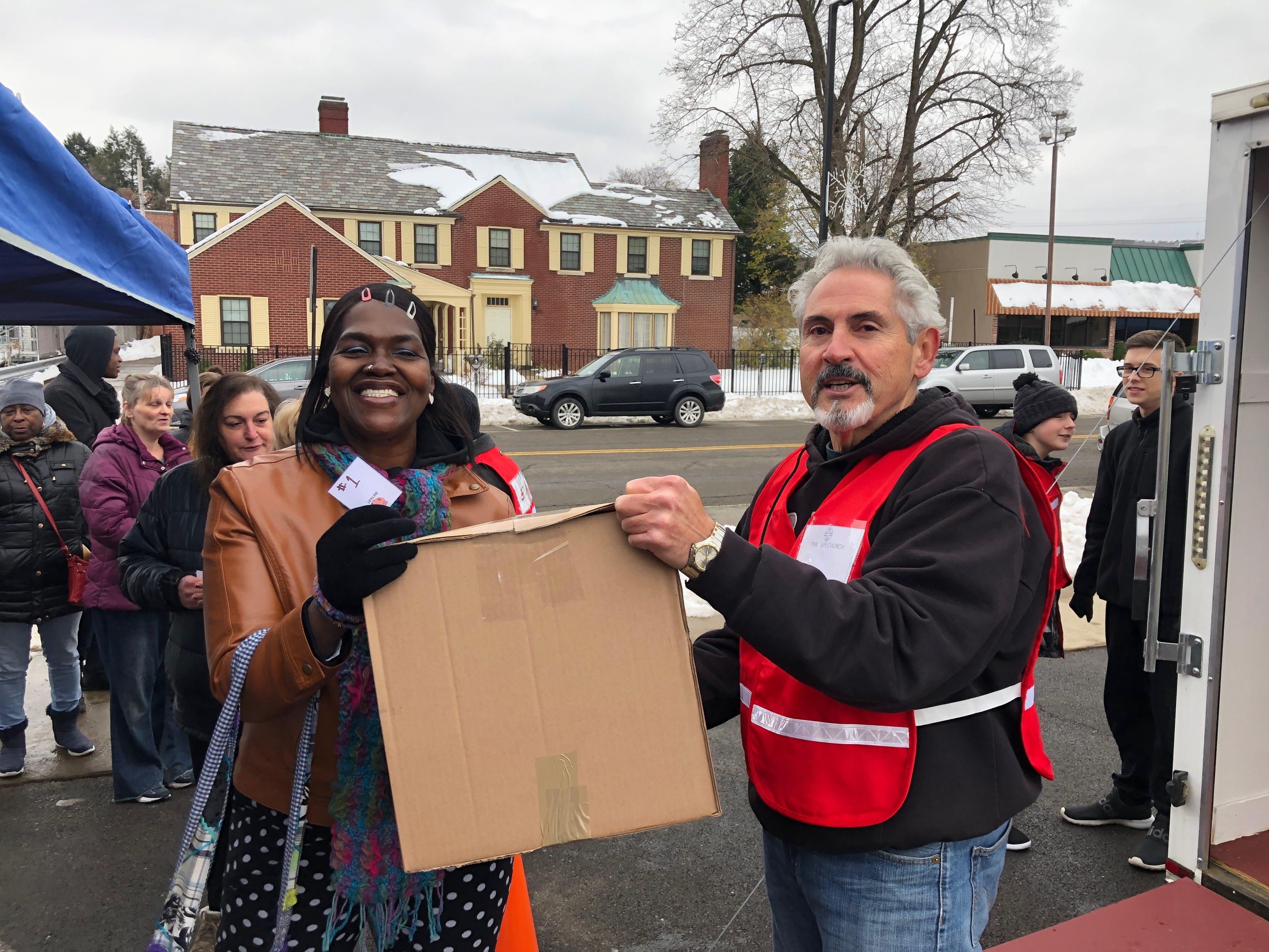 Family Life Church in Vestal distributed Thanksgiving meals to families in Endicott and Binghamton.