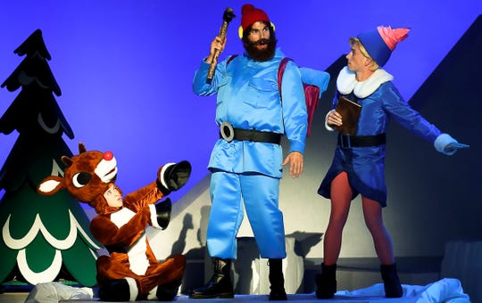 """The story of """"Rudolph the Red-Nosed Reindeer"""" comes to life onstage at the Clemens Center in Elmira on Dec. 6."""