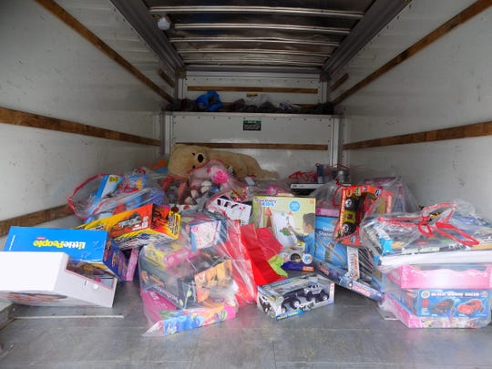 Every year, volunteers for the Children's Charity of Greater Binghamton host a Give Back Friday toy drive.