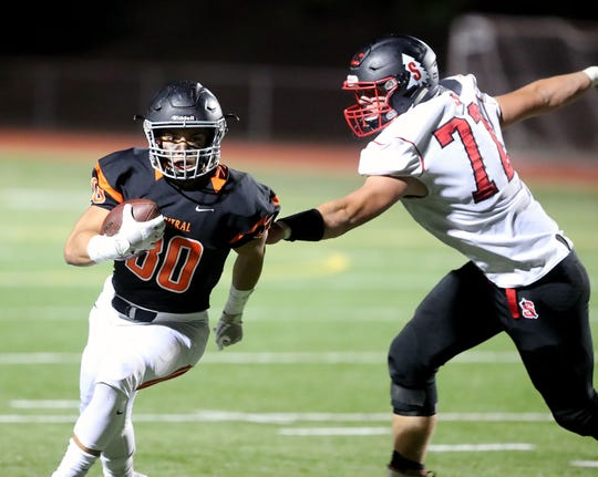 Central Kitsap running back Alex Refilong led the Cougars to the postseason for the first time since 2015.