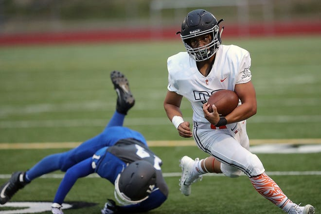 Central Kitsap running back Alex Refilong rushed for 1,801 yards and 20 touchdowns for the Cougars.