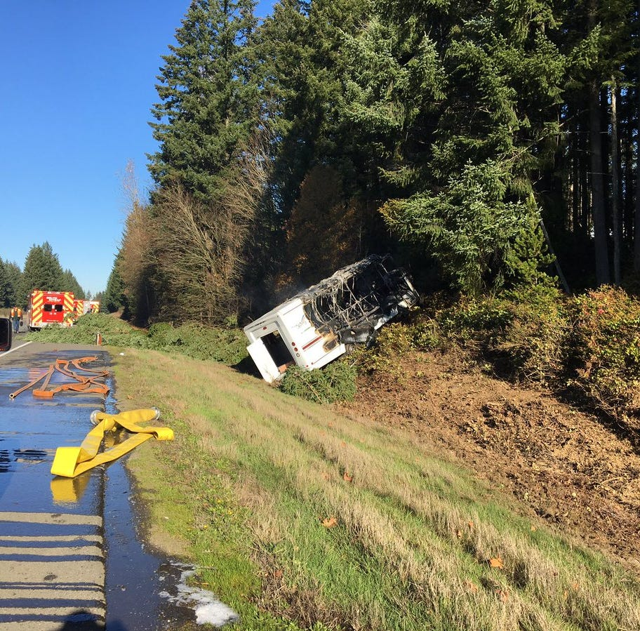 Washington State Patrol investigating fatal crash involving Kitsap Airporter bus