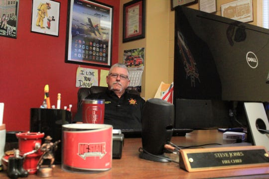 After 38 years with the Black Mountain Fire Department, chief Steve Jones will retire on Nov. 28.