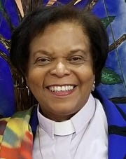 The Rev. Rosalie Norman McNaney, VITAS chaplain and co-founder of Interfaith Connections of Brevard County, along with the Rev. Debbie Vann and Rabbi Pat Hickman.