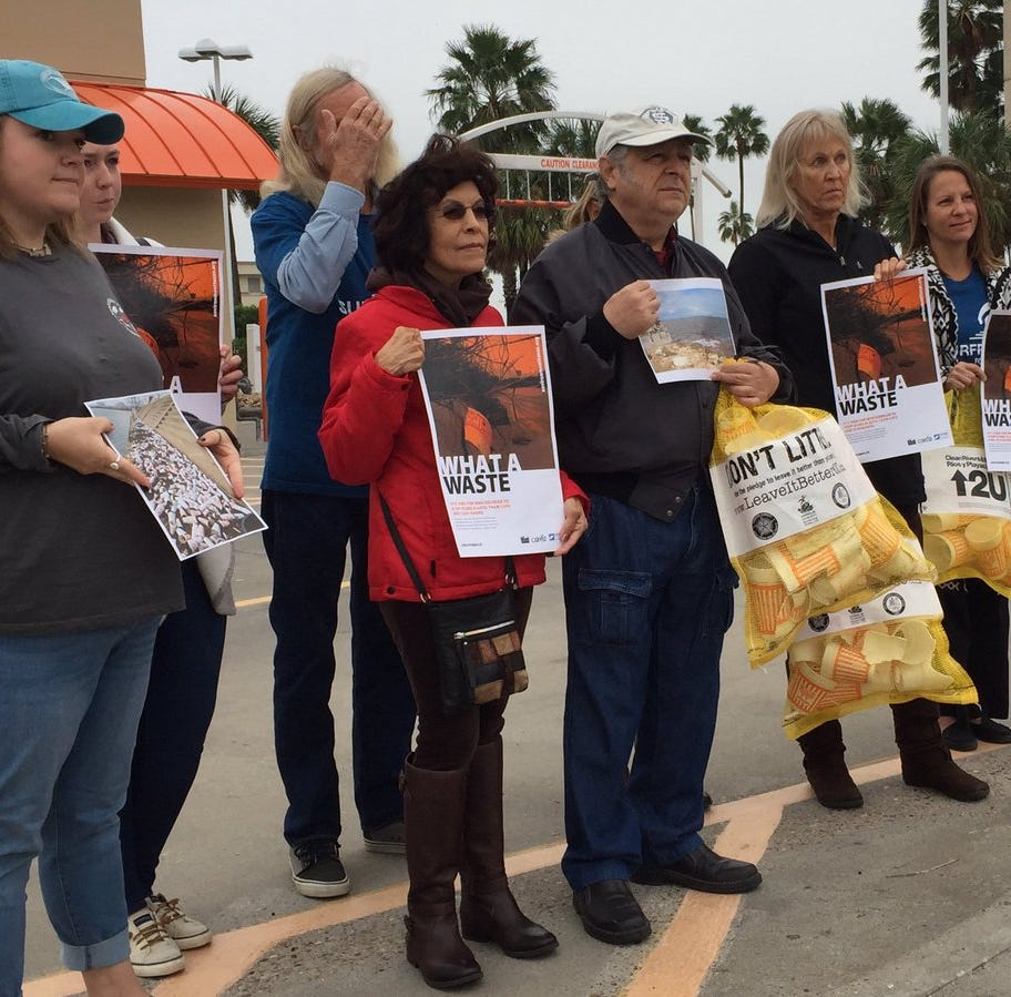 Activists deliver petition to Whataburger with message: Stop using Styrofoam cups