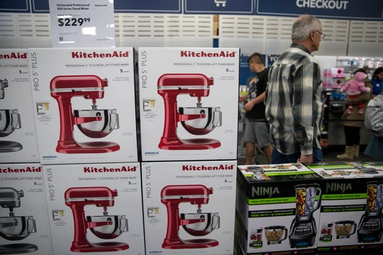 Best Buy has several Black Friday deals available as of Monday, November 19, 2018, such as this KitchenAid Professional 5 Plus Series Bowl-Lift Stand Mixer, , which is normally $499.99 and is on sale for $229.99.