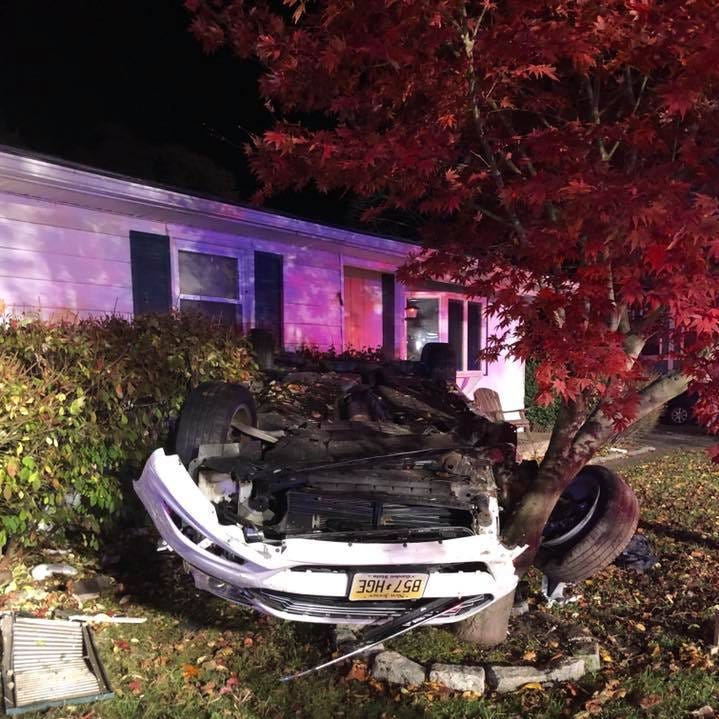 NJ driver charged after vehicle crashes into Berlin home