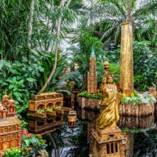 The Naturalists at the Somerset County Park Commission Environmental Education Center will hold a day trip to the New York Botanical Garden Holiday Train Show on Thursday, Dec. 6.