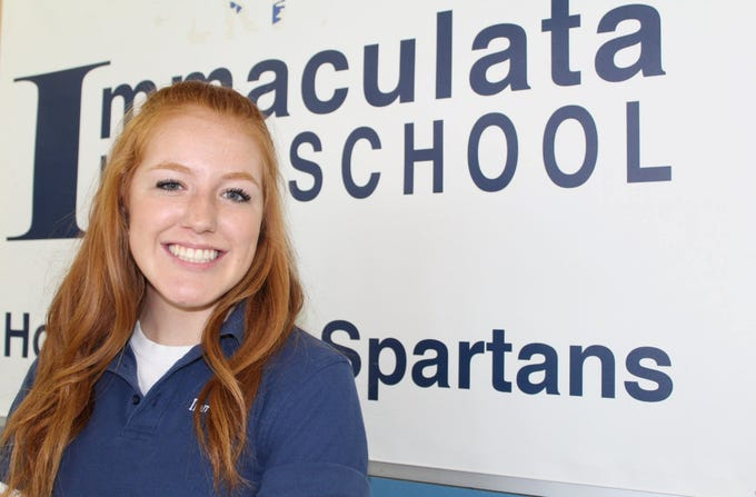 Julia Hoffman will represent Immaculata High School student athletes at the Student Athlete Advisoy Council.