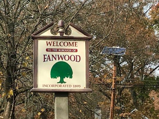 Fanwood borough sign
