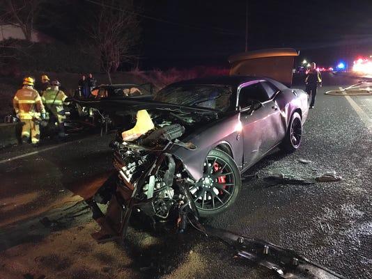Oregon Crash Vehicle